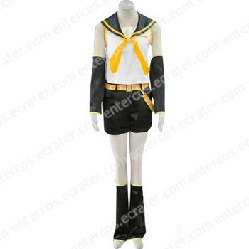 Vocaloid Kagamine Rin Halloween Cosplay Costumes  any size