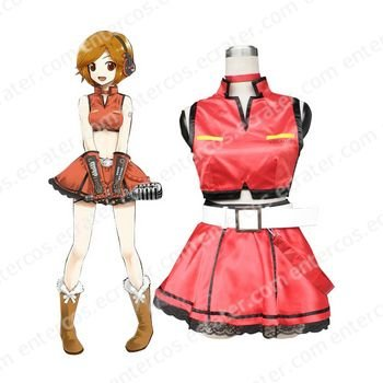Vocaloid Meiko Cosplay Costume any size