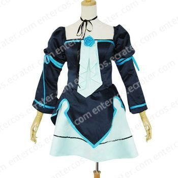 Vocaloid Miku Doujin Lolita Cosplay Costume any size