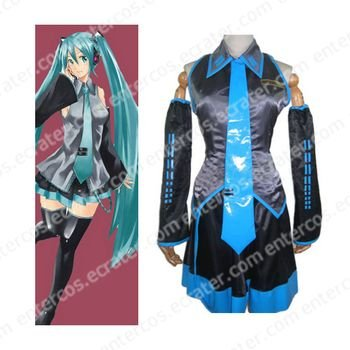 Vocaloid Miku Hatsune Halloween Cosplay Costumes  any size