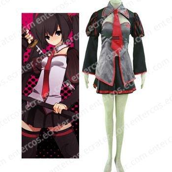 Vocaloid Zatsune Miku Cosplay Costume  any size