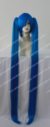 Cosplay wigs - hatsune miku 120cm wigs blue from VOCALOID