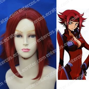 Cosplay wigs - Kouzuki Kallen  wigs from CodeGeass