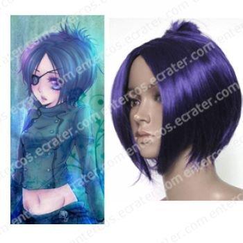 Hitman Reborn Dokuro Chrome Cosplay Wig
