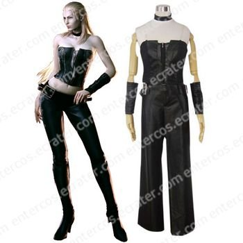 Devil May Cry 4 Trish Cosplay Costume any size