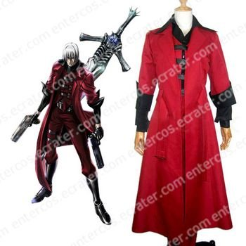 Devil May Cry Dante Cosplay Costume  any size