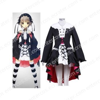Haruhi Suzumiya Nagato Yuki Cosplay Costume any size
