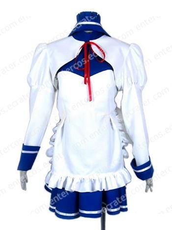 Haruhi Suzumiya Tsuruya Maid Cosplay Costume any size