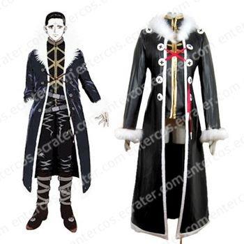 Hunter X Hunter Kuroro Lucifer Cosplay Costume any size