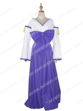 Cos1037 Kannazuki No Miko Himeko Kurusugawa Cosoplay Costume  any size