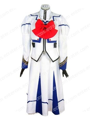 Magical Girl Lyrical Nanoha Nanoha Takamachi Uniform Cosplay Costume any size