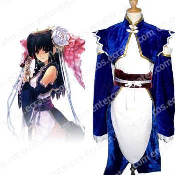 Sangokushi Taisen 3 Empress Cao Cosplay Costume A   any size