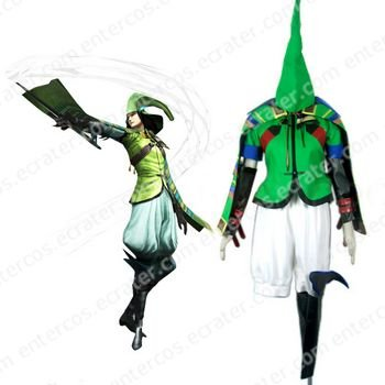 Devil Kings Sengoku Basara 2 Mori Motonari Kahz Cosplay Costume  any size