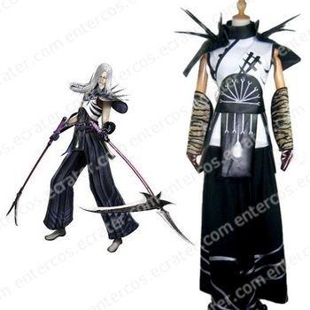 Sengoku Basara 2 Akechi Mitsuhide Cosplay Costume   any size