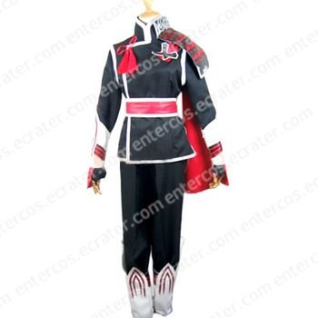 Sengoku Basara 2 Takenaka Hanbei Cosplay Costume  any size