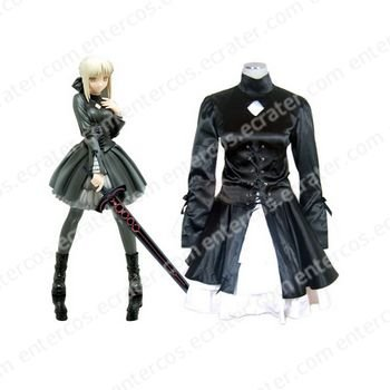 Fate Hollow Ataraxia Saber Halloween Cosplay Costume any size