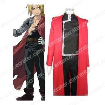 Full Metal Alchemist Edward Elric Halloween Cosplay Costume any size