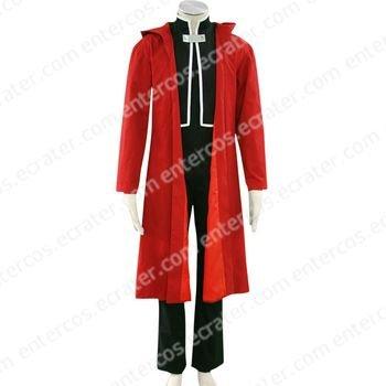 Full Metal Alchemist Edward Halloween Cosplay Costume any size