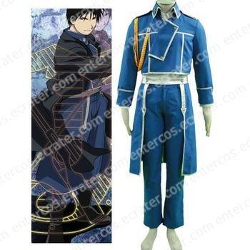 Fullmetal Alchemist Mustang Uniform Cosplay Costume any size