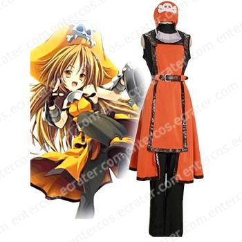 Guilty Gear Jellyfish Pirate May Halloween Cosplay Costume  any size