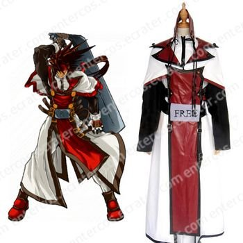 Guilty Gear XX Order Sol Badguy Halloween Cosplay Costume any size