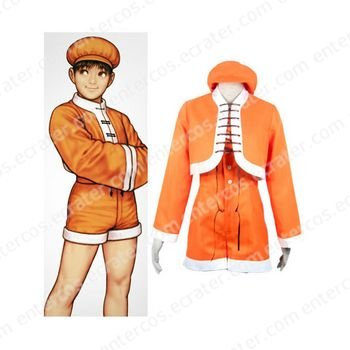 King of Fighter 99 Bao Halloween Cosplay Costume any size
