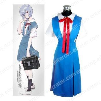Neon Genesis Evangelion Asuka Halloween Cosplay Costume  any size