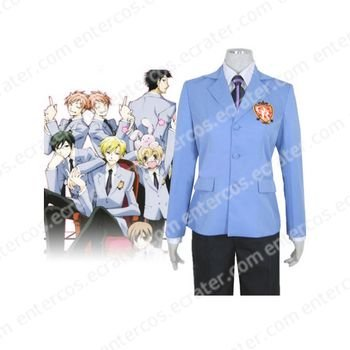 Ouran High School Host Club Halloween Cosplay Costume  any size