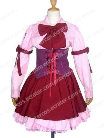 Saint October Cosplay Costumes  any size