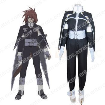 Tales of Symphonia Kratos Aurion Halloween Cosplay Costume any size