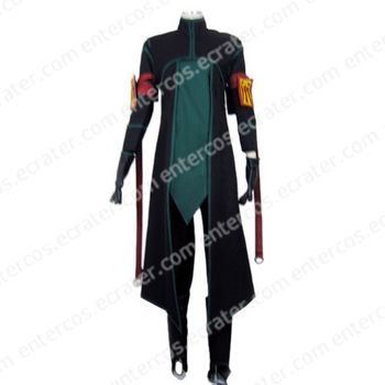 Tales of the Abyss Sync the Tempest Halloween Cosplay Costume any size