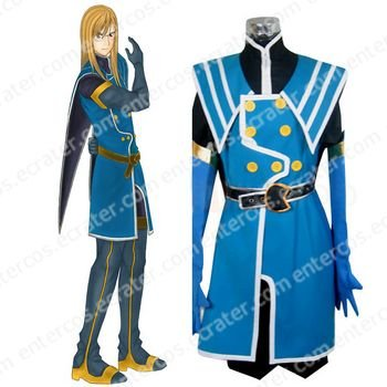 Tales of the Abyss Jade Curtiss Halloween Cosplay Costume any size