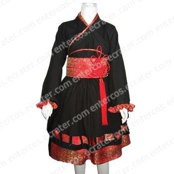 Japanese Girl Kimono Cosplay Costume any size