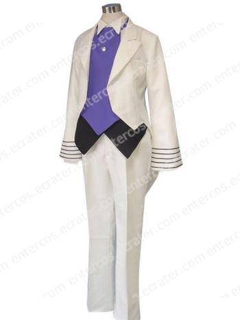 Nisio Isin Ningen Series Zerozaki Magashiki Cosplay Costume any size