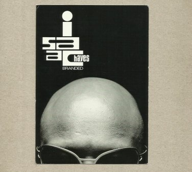 ISAAC HAYES BRANDED VIRGIN RECORDS PROMOTIONAL POSTCARD