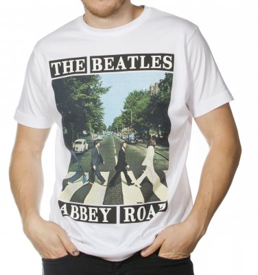 THE BEATLES ABBEY ROAD APPLE BRAND T-SHIRT NEW PERFECT SIZE L