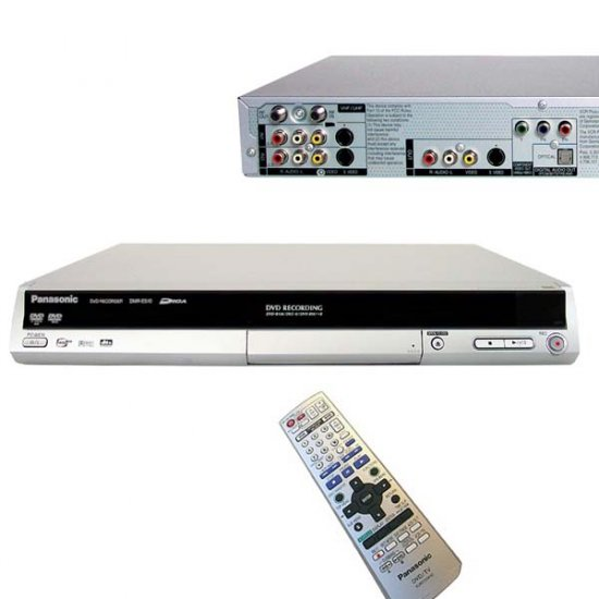 SEALED PANASONIC DMR-ES10S DMR-ES10 DVD RECORDER INBOX!
