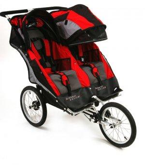 2007 Dreamer Design Ditto Lite Double Jogging Stroller