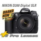 NIKON D200 SLR + $3500 3 lenses 2 gig 70-300mm & more