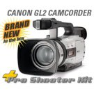CANON GL2 MINIDV DIGITAL USA & $4500 PRO SHOOTERS KIT