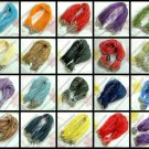 100 Ribbon Cord Necklaces / Cords - 28 Colors to Choose From