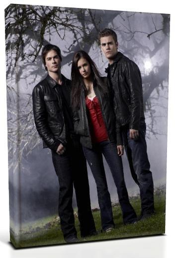Vampire Diaries Main Characters (6) Canvas Print 20 x 24 (Print Run Limited to 50)