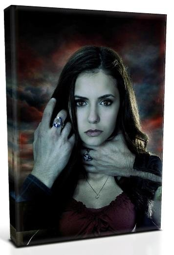 Vampire Diaries Elena Gilbert Nina Dobrev (7) Canvas Print 12 x 16 (Print Run Limited to 50)