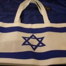 FLAG OF ISRAEL TOTE BAG - SOUVENIR FROM ISRAEL