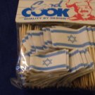 Flag of Israel Decorative Toothpicks