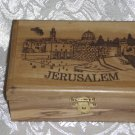 Olive Wood Box - Jerusalem