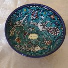 Armenian Ceramic Decorative Bowl (Birds)