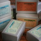 3 Bars of Olive Oil Soaps from Israel Enriched with a Variety of Herbs & Spices