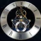 NEW 'Floating' Anniversary Quartz Skeleton Insert Clock Movement (MST-120)