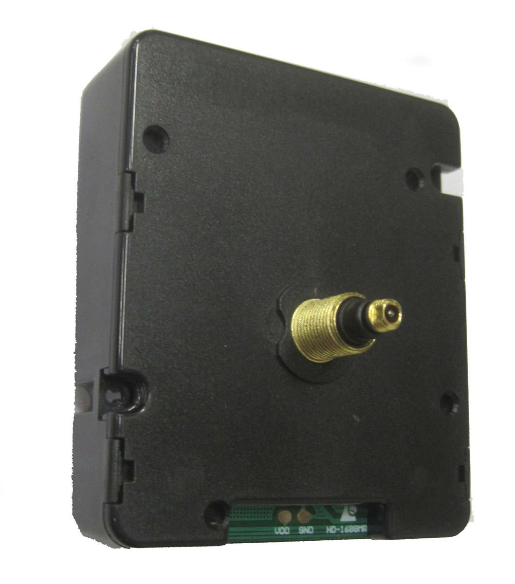 Radio Controlled Clock Movement - World's Most Accurate! -  (MRC-65M)  Medium Shaft